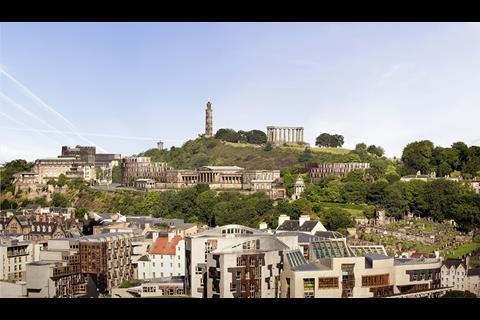 Gareth Hoskins' propsal for the Royal High School on Calton Hill in Edinburgh
